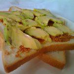 アボカドと味噌のサンドイッチが旨い!【画像】で紹介します